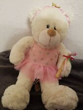 Tillie Twinkletoes Ballerino Plush Bear By First And Main 11""