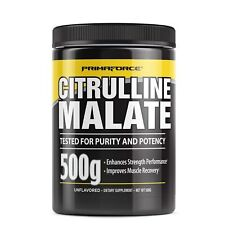 PrimaForce CITRULLINE MALATE Endurance & Recovery 500g - 250 Servings UNFLAVORED