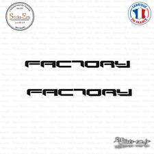2 Stickers Aprilia Factory Decal Aufkleber Pegatinas APR06 Couleurs au choix