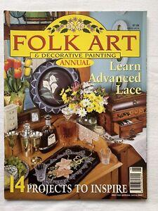 Australian Folk Art & Decorative Painting Magazine Annual 1998 Volume 4 No 3