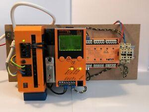 IFM AC 1305, AS-Interface PROFIBUS DP-Gateway mit SPS, Netzteil u. IO-Modul
