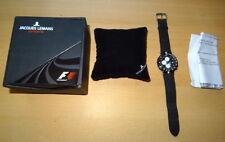 Jacques Lemans Sports Chronograph 420 B, F1 Formula 1, Alarm, Uhr, Rarität + OVP