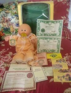 Vintage 1985 Cabbage Patch Doll Preemie Susannah Boxed & Papers. Xavier Roberts