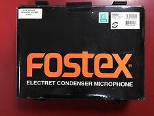 Fostex MC10ST Stereo Microphone Set with  transport case BOXED & NEW