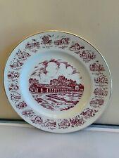 Vintage Early 1980's San Juan Bautista Calif State Souvenir Collector Plate