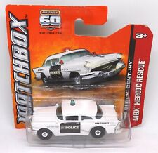 56 Buick Century Police Car Matchbox 60th Anniversary Model Toy Car Collectable