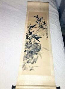 OLD CHINESE SCROLL SIGNED