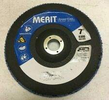 "20 Merit Grinding Wheels Power flex 7"" Grit 60ZRB T27C Fiber Flap Disc"