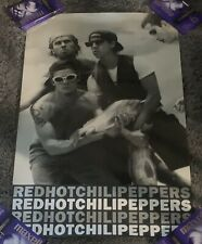Red Hot Chili Peppers Smoking Fish Promo Poster Rare Excellent Condition B&W