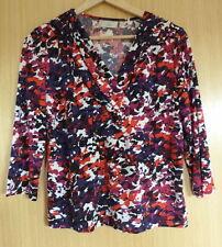 Waist Length V Neck Formal Petite Tops & Shirts for Women
