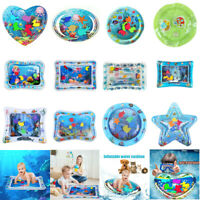 Inflatable Baby Water Mat Novelty Play Kids Children Infants Best Tummy Time Toy