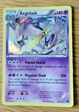 Aegislash holo rare Pokemon card 62/122 2016