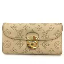 Louis Vuitton Mahina Portefeuille Amelia Leather Trifold Long Wallet /50085