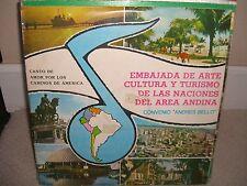 Embajada de Arte Cultura Y Turismo - Convenio Andres Bello - Rare DBL LP NM L6