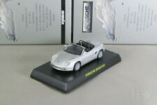 Porsche BOXSTER 986 Silver 1/64 Kyosho Minicar Collection Japan Limited 2006