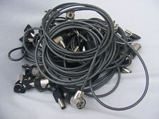 Lotto per OdL x15 TARGUS LAPTOP NOTEBOOK Cable Lock.