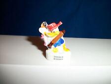 Donald Duck Cooking Kitchen Utensils Mickey & Gang Porcelain Feves Figure Disney