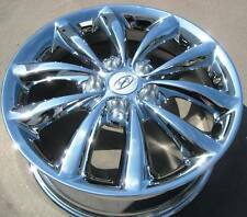 "SET OF 4 NEW FACTORY HYUNDAI 17"" AZERA CHROME OEM WHEELS RIMS TIBURON 2006-10"