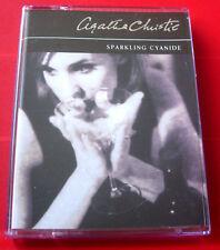 Agatha Christie Sparkling Cyanide 2-Tape Audio Book Nigel Anthony