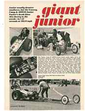1971 A/FD DRAG RACING - YANCY, CAMP & AEECO  ~  NICE ORIGINAL ARTICLE