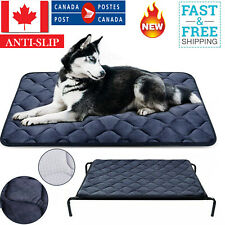 Elevated Dog Warm Bed Washable Mat For Extra Large Crate Chewers Breed 65 X 90