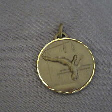 883B Médaille Laiton Sport Gymnastique A.P.S. Meyzieu