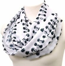 Workout infinity scarf crossfit Fitness yoga gym gift for women outfit accessory