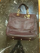 Christian Dior Woven Leather Shoulder Bag