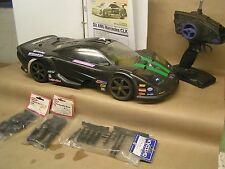 RARE Kyosho SuperTen GP FW-04 4WD 1/10 road car w/ manual, great looking car,