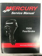 2008 Mercury Service Manual 15/20 FourStroke P/N 90-899987