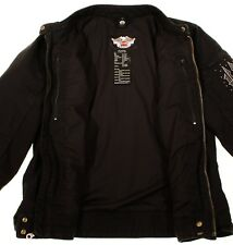 OZ476 HARLEY DAVIDSON Women Motorcycle Jacket Size S