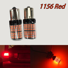 Brake 1156 BA15S P21W 7506 3497 1141 144 Projector Red LED Bulb A1 AW LAX
