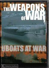 THE WEAPONS OF WAR UBOATS AT WAR - NEW & SEALED DVD - FREE LOCAL POST