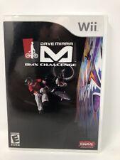 Dave Mirra BMX Challenge (Nintendo Wii, 2007) Complete