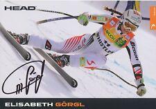 Elisabeth Görgl  Österreich  Ski Alpin Autogrammkarte signiert WL 338518