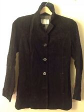 Women's Small Nine West Black Suede Jacket