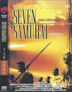 Seven Samurai (1954)  Akira Kurosawa / Toshirô Mifune DVD NEW *FAST SHIPPING*