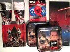 STAR WARS Episode VII The Force Awakens Birthday Party Supply Kit w/ Balloons