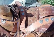 "14.5""  Rare American Trail Saddle  Collection Item"
