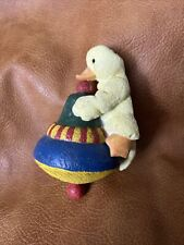Sarah's attic Inc. July Waddles Collectible Figurine Duck Wishes Waddles