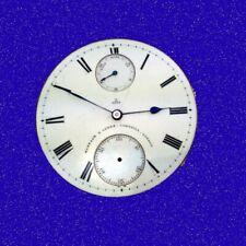 Barraud & Lund 19 Jewel Transitional Keyless Fusee Up/Down Watch Movement 1890