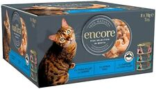 More details for encore cat tin multipack fish selection in broth 100% natural - 8 x 70g