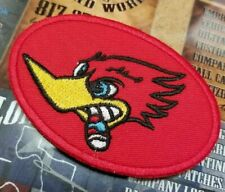 EMBROIDERED WOODPECKER PATCH