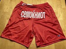 BRAND NEW WESTSIDE GUNN ALMIGHTY RED CHAMPION SHORTS SIZE LARGE GxFR GRISELDA