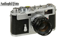 Nikon S3 + Nikkor-S 50mm/1,4 LIMITED 2000 YEAR EDITION (Vom Nikonfachhändler)