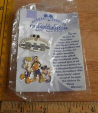 Mickey Mouse Sports Leagues cast lot of 2 pins Disneyland Resort Disney Pin 40yr