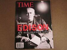Thomas Edison: His Electrifying Life - Time Magazine Special - 2013 - Tesla