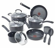 T-fal E918SC Ultimate Hard Anodized Durable Nonstick Expert Interior Thermo NEW