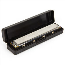 Tremolo Harmonica French Harp Mouth Organ Phosphor Bronze 24 Holes Key of C Gift