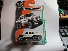 Mercedes-Benz G63 AMG 6x6 #91 * Off White * Matchbox 2017 * Case G